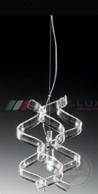 Люстра METALLUX 206.511.02 хром/белый 3 vetri