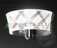 Бра METALLUX 196.111.52 Chrome Silver Glass