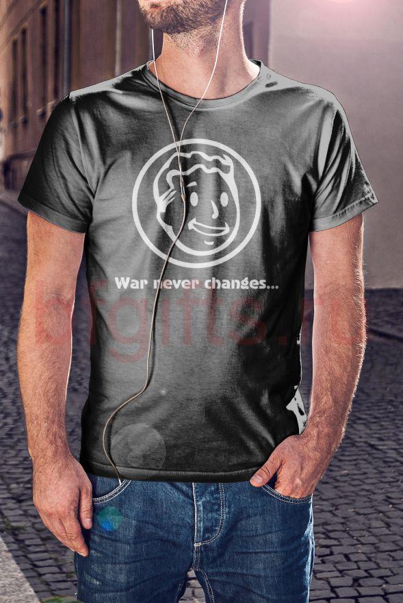 "Футболка ""War never changes"""