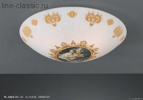 Люстра LA LAMPADA PL 432/4. DEC.63