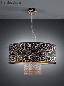 Люстра LA LAMPADA L 980/6.26 LEOPARD+SWAROV