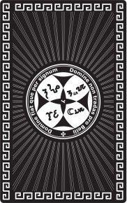 """Магическая карта """"Талисман, приносящий счастье"""", 90х57 мм, сталь с покрытием"""