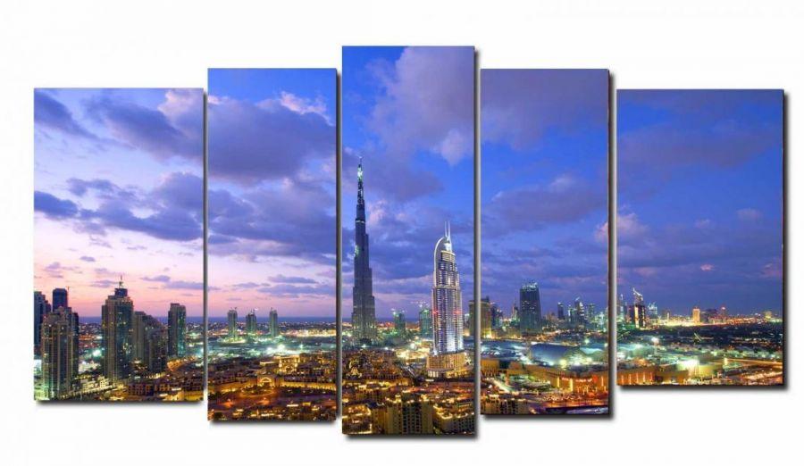 Модульная картина Дубаи