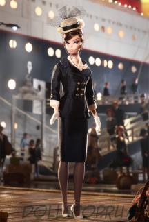 Коллекционная кукла Барби в наряде для путешествий в соломенной шляпке - Boater Ensemble Barbie Doll