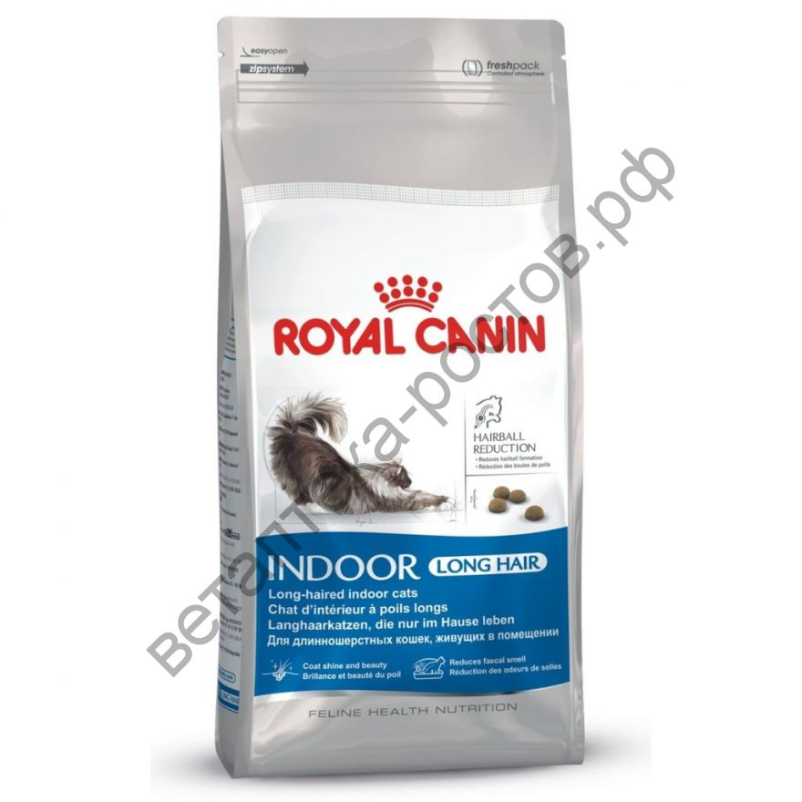 Royal Canin для кошек Indoor Long Hair