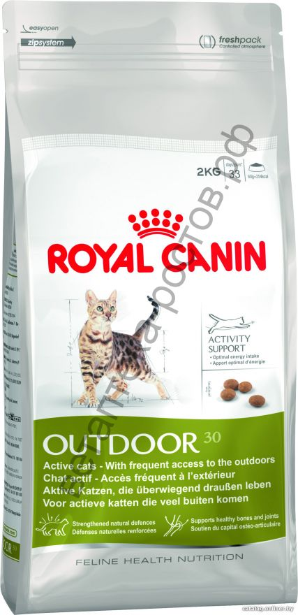 Royal Canin для кошек Outdoor