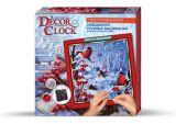 Набор для творчества Decor Clock Снегири, Danko Toys
