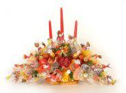 """Букет из конфет №362 """"Праздник со свечами"""""""