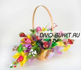 """Букет из конфет №530 """"Веснянка"""""""