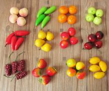 Муляж фруктов и овощей - 3см