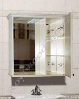 """Подвесной шкаф для ванной комнаты фото """"Челси-2 УОРВИК-80R береза"""""""