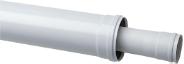 Коаксиальное удлинение полипропиленовое диам. 80/125 мм, длина 500 мм, HT  KHG 71408861