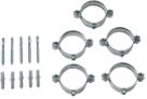 Кронштейны для крепления труб к стене (5 шт.) для труб диам. 80 мм   KHG 71403731