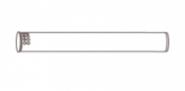 Наконечник полипропиленовый вертикальный, диам. 110, НТ   KUG 71413281