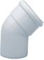 Отвод полипропиленовый 45°,  диам. 80 мм (2 шт. в компл.), HT    KHG 71409451