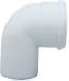 Отвод полипропиленовый 87°,  диам. 110 мм, HT   KUG 71413301