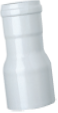 Переходник из полипропилена, диам. 80 / диам. 60, HT  KHG 71407561