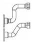 Трубы подачи/возврата в разделитель производительностью 8,5 м3/ч   7106865