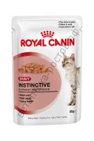 Royal Canin для кошек Instinctive, пауч 85 гр. уп. 12 шт.