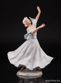 Танцующая девушка, Unterweissbach, Германия, 1940-62 гг
