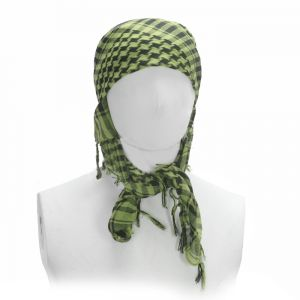 Арафатка Gen X Global Special Forces Checkers - Lime Green