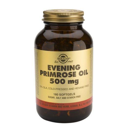 Солгар Масло примулы вечерней 500 мг (60 капсул)