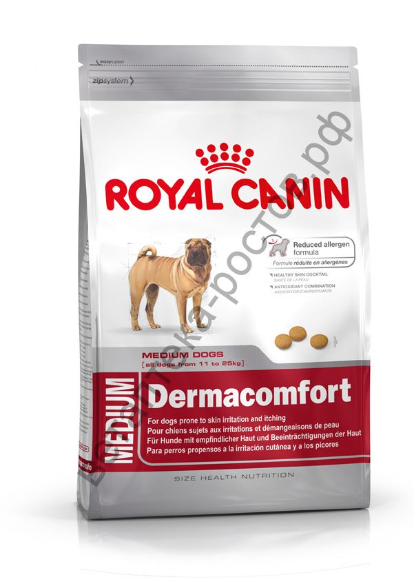 Royal Canin для собак Medium Dermacomfort