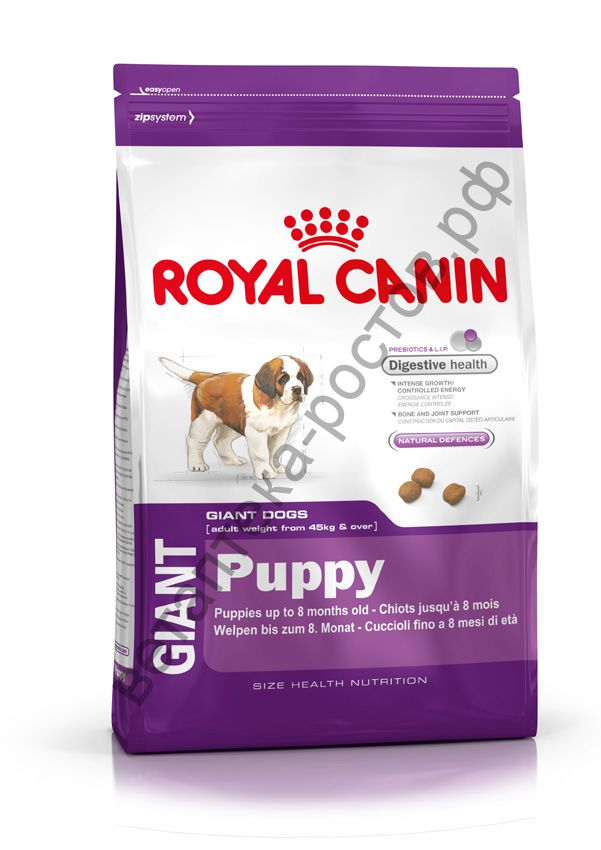 Royal Canin для щенков Giant Puppy