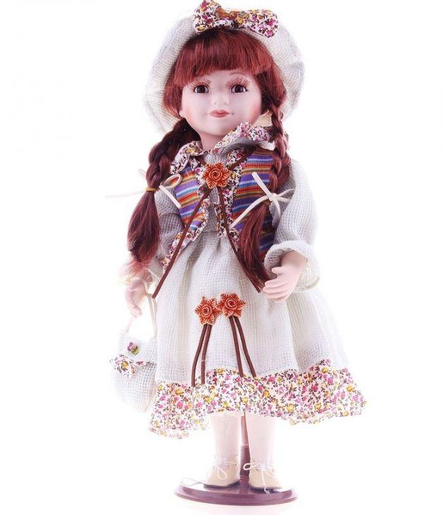 Кукла Каринка с косичками