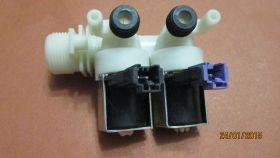 Клапан заливной (впускной) для стиральной машины 2х180х90 разем по джек