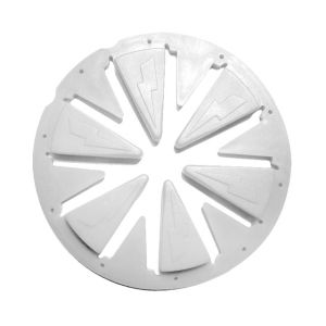 SpeedFeed Gen X Global Rotor - White