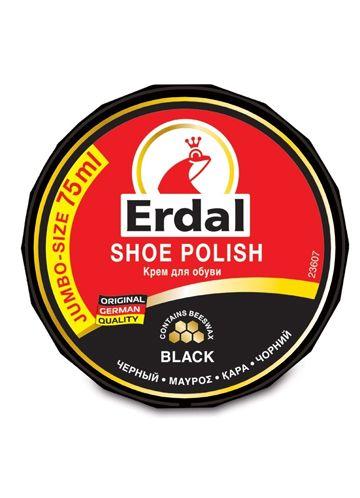 Erdal Крем для обуви 75 гр./бан. (черный)