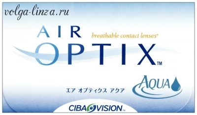 AIR OPTIX AQUA 3 шт
