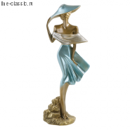 Скульптура Империя Богачо Девушка на ветру (22033 Б)