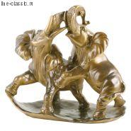 Скульптура Империя Богачо Играющие слоны (22050 Б)