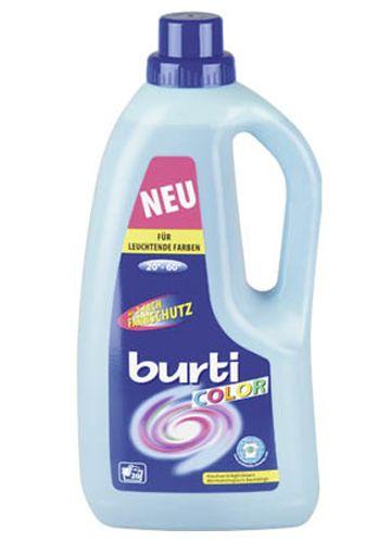 Burti Color Liquid New cинтетическое жидкое средство для цветного белья, 1,5 л