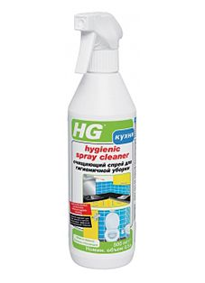 HG Очищающий спрей для гигиеничной уборки 500 мл