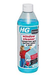 HG Средство для мытья окон и рам 500 мл