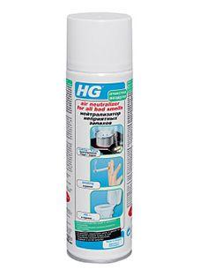 HG Нейтрализатор неприятных запахов 400 мл