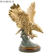 Скульптура Империя Богачо Орел на волне (22077 Б)
