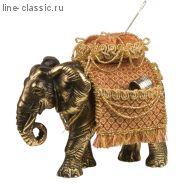 Скульптура Империя Богачо Слон (игольница) (22446 Б)