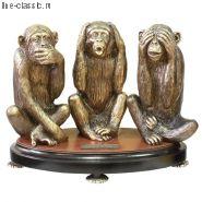 Скульптура Империя Богачо Терцет 22437 Б