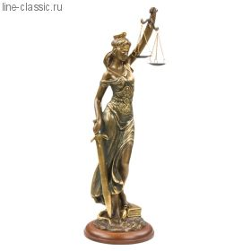 Скульптура Империя Богачо Фемида -4 (22445 Б)