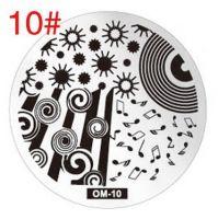 Диски для стемпинга серии ОМ № 10