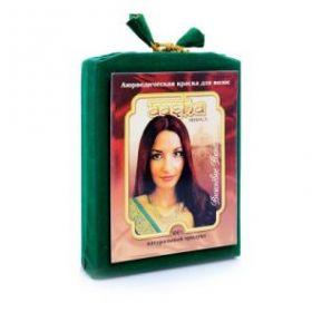 Аюрведическая лечебная краска для волос Вишневое вино Ааша Хербалс (AASHA Herbals) 100г
