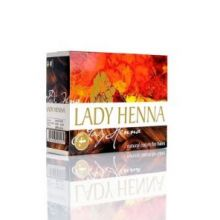 Каштан Краска для волос на основе хны Леди Хенна (LADY HENNA) 6 пак по 10г