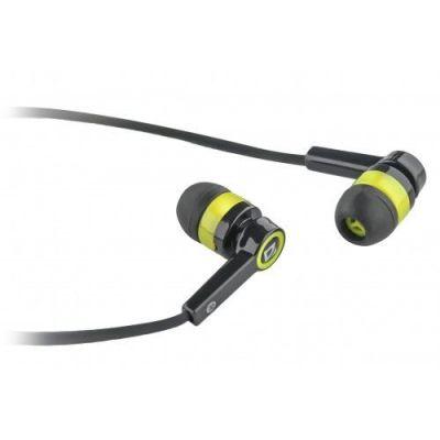 Гарнитура для смартфонов Pulse 420 черный + желтый, вставки