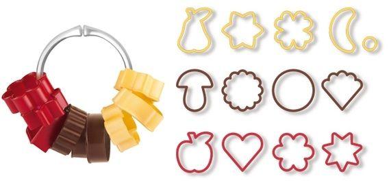 Формочки для печенья традиционные DELICIA 13 шт 630900