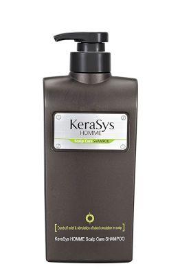 Шампунь KeraSys для лечения кожи головы, для мужчин Ю.Корея