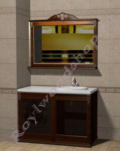 """Комплект для ванной """"Глазго КОМБИ-L орех""""                                      Внимание: узнать цену за выбранный Вами состав можно в свитке """"КОМПЛЕКТАЦИЯ"""""""